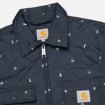 Мужская стеганая куртка Carhartt WIP Pender Economy Print Colony/White фото- 1