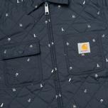 Мужская стеганая куртка Carhartt WIP Pender Economy Print Colony/White фото- 2