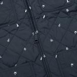 Мужская стеганая куртка Carhartt WIP Pender Economy Print Colony/White фото- 3