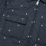 Мужская стеганая куртка Carhartt WIP Pender Economy Print Colony/White фото- 4