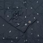 Мужская стеганая куртка Carhartt WIP Pender Economy Print Colony/White фото- 5