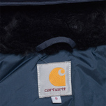 Мужская куртка Carhartt WIP Anchorage Parka Navy/Black фото- 8