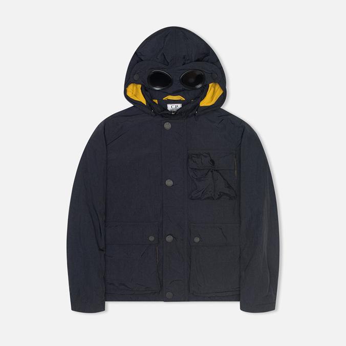 Детская куртка C.P. Company U16 Nylon Hooded Goggle Navy