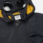 Детская куртка C.P. Company U16 Nylon Hooded Goggle Navy фото- 2