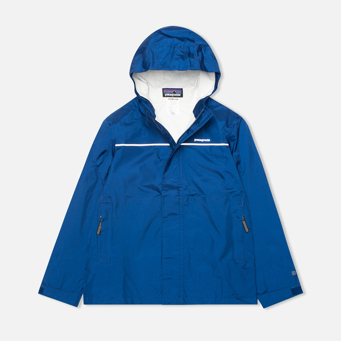 Детская куртка Patagonia Torrentshell Channel Blue