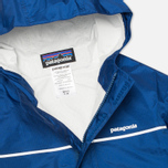 Детская куртка Patagonia Torrentshell Channel Blue фото- 1