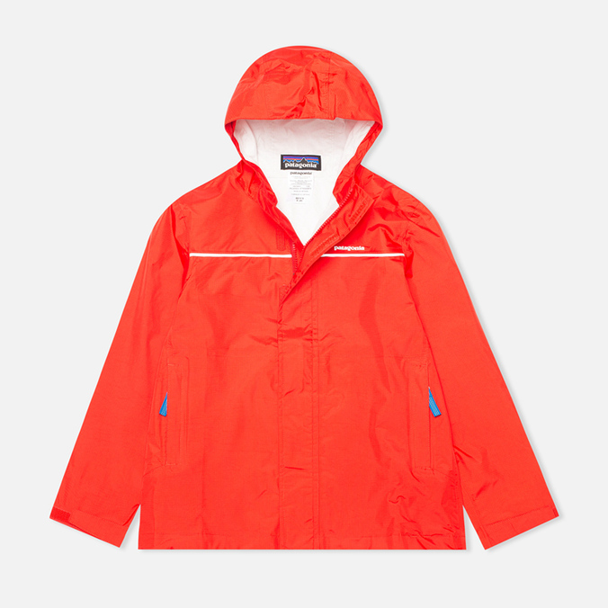 Детская куртка Patagonia Torrentshell Turkish Red