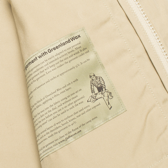 100% najwyższej jakości ładne buty szeroki wybór Мужская куртка Fjallraven Greenland Cork/Sand 81427-218-220