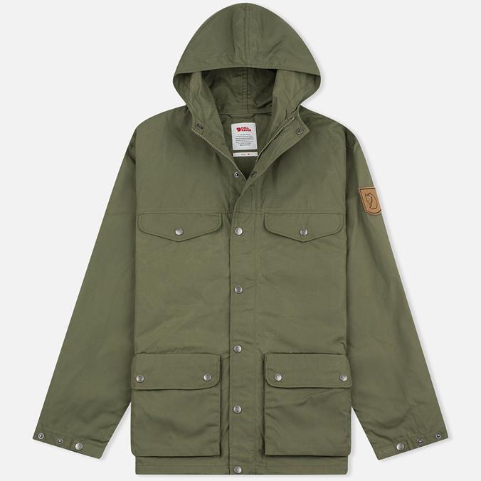 Мужская куртка парка Fjallraven Greenland Green