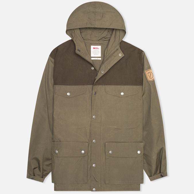 Мужская куртка Fjallraven Greenland Tarmak/Dark Olive