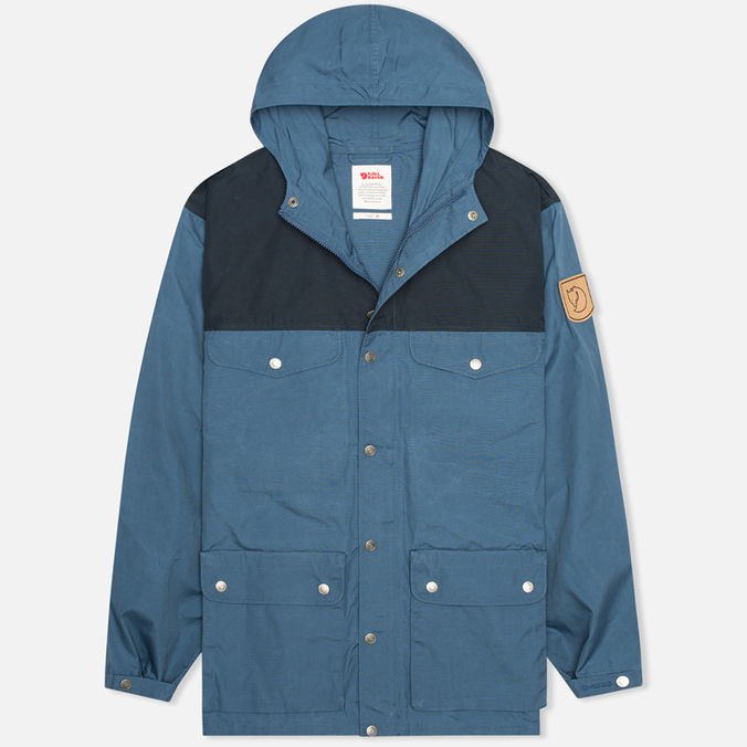 Мужская куртка Fjallraven Greenland Uncle Blue/Dark Navy