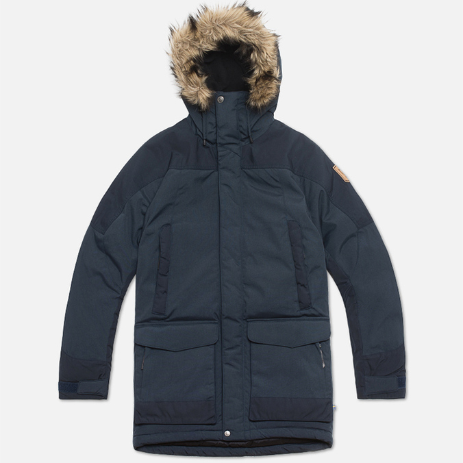 Fjallraven Kyl Parka Jacket Dark Navy