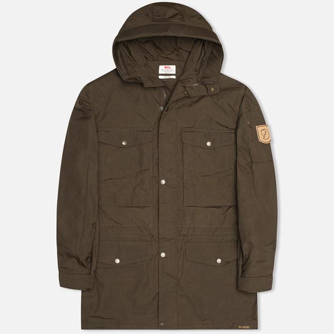 Мужская куртка парка Fjallraven Sarek Trekking Dark Olive