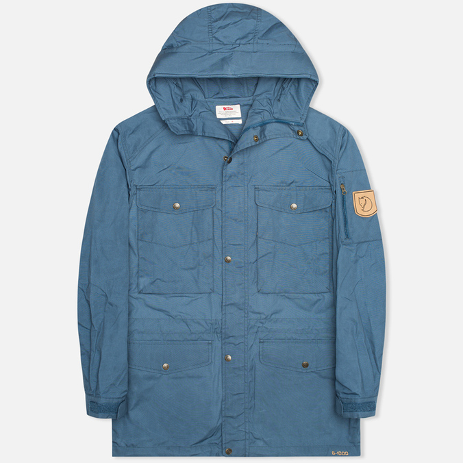 Мужская куртка парка Fjallraven Sarek Trekking Uncle Blue