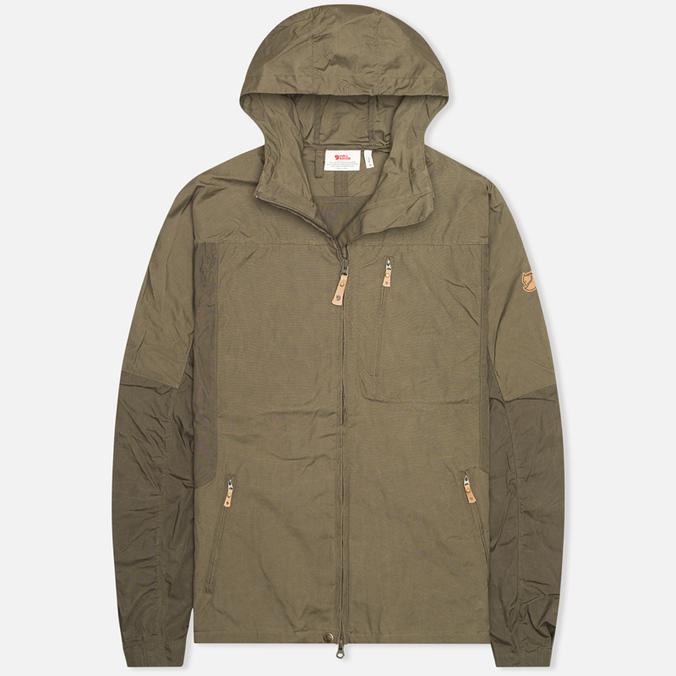 Мужская куртка ветровка Fjallraven Sten Tarmac