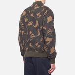 Fred Perry Camo On The Run Hunting Green photo- 2