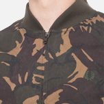 Fred Perry Camo On The Run Hunting Green photo- 5