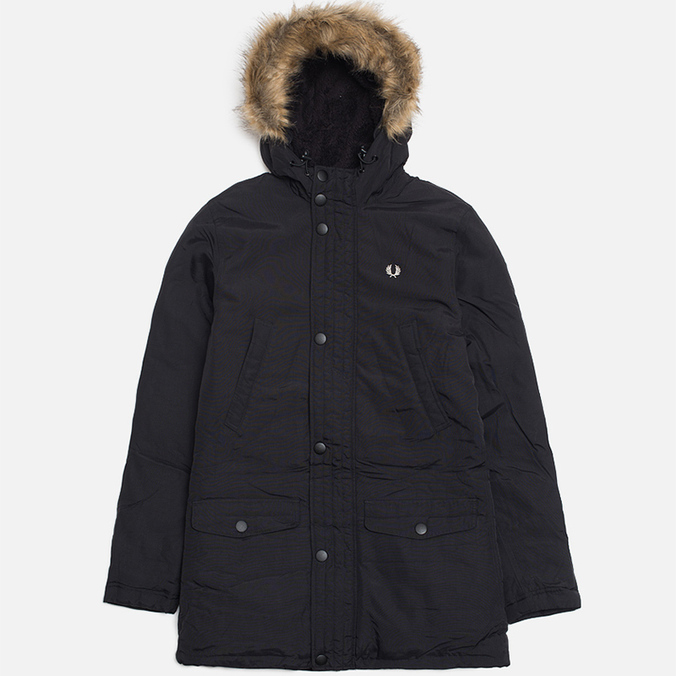 Мужская куртка Fred Perry Down Parka Black