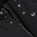 Мужская куртка Fred Perry Down Parka Black фото- 3