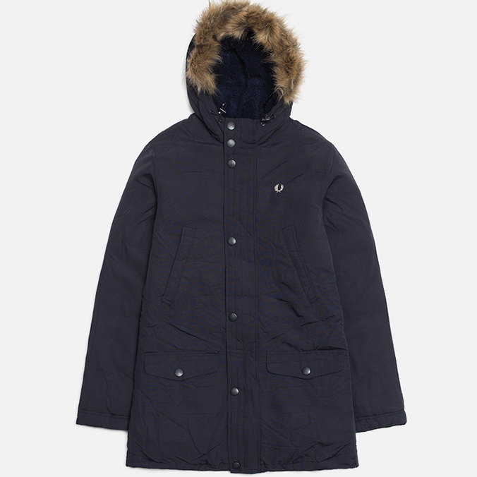 Мужская куртка Fred Perry Down Parka Dark Navy