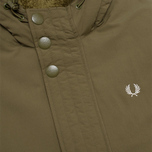 Мужская куртка Fred Perry Down Parka Dark Olive фото- 2