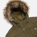 Мужская куртка Fred Perry Down Parka Dark Olive фото- 1
