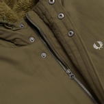 Мужская куртка Fred Perry Down Parka Dark Olive фото- 3