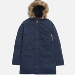Мужская куртка Fred Perry Down Snorkel Parka Dark Carbon фото- 0
