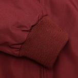 Мужская куртка харрингтон Fred Perry Laurel Made in England Harrington Maroon фото- 4