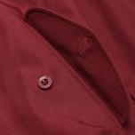 Мужская куртка харрингтон Fred Perry Laurel Made in England Harrington Maroon фото- 5