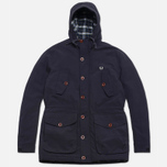 Fred Perry Mountain Parka Wadded Jacket Navy photo- 0