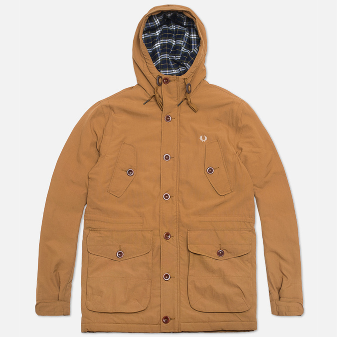 Мужская куртка Fred Perry Mountain Parka Wadded Rubber