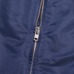 Мужская куртка бомбер Gant Rugger Nylon Varsity Navy фото- 3
