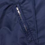 Мужская куртка бомбер Gant Rugger Nylon Varsity Navy фото- 2