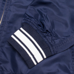 Мужская куртка бомбер Gant Rugger Nylon Varsity Navy фото- 4