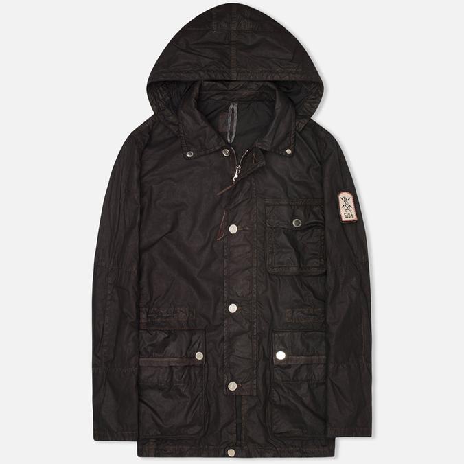 Мужская куртка парка Grunge John Orchestra. Explosion 8 Parka 17HLC1 Black