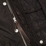 Grunge John Orchestra. Explosion 8 Parka 17HLC1 Jacket Black photo- 5