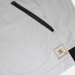 Мужская куртка ветровка Grunge John Orchestra. Explosion 8 Rain Jacket 2 Reflective Grey фото- 3