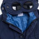Детская куртка C.P. Company U16 Cotton Nylon Goggle Jacket Navy фото- 4