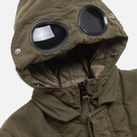 Детская куртка C.P. Company U16 Cotton Nylon Goggle Jacket Olive фото- 1