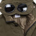 Детская куртка C.P. Company U16 Cotton Nylon Goggle Jacket Olive фото- 4