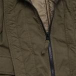 C.P. Company U16 Cotton Nylon Goggle Children's Jacket Olive photo- 5