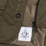 C.P. Company U16 Cotton Nylon Goggle Children's Jacket Olive photo- 6