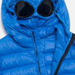 Детская куртка C.P. Company U16 Goggle Down Jacket Blue фото- 2