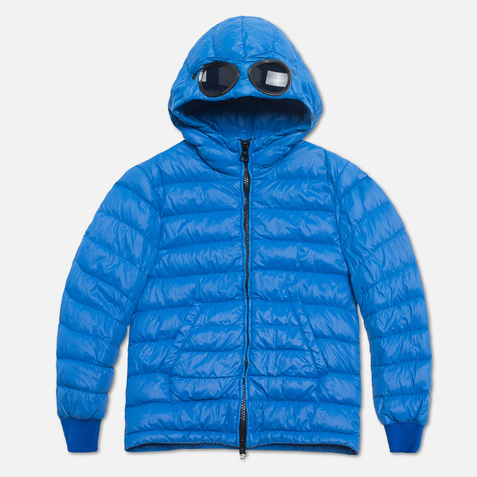 Детская куртка C.P. Company U16 Goggle Down Jacket Blue