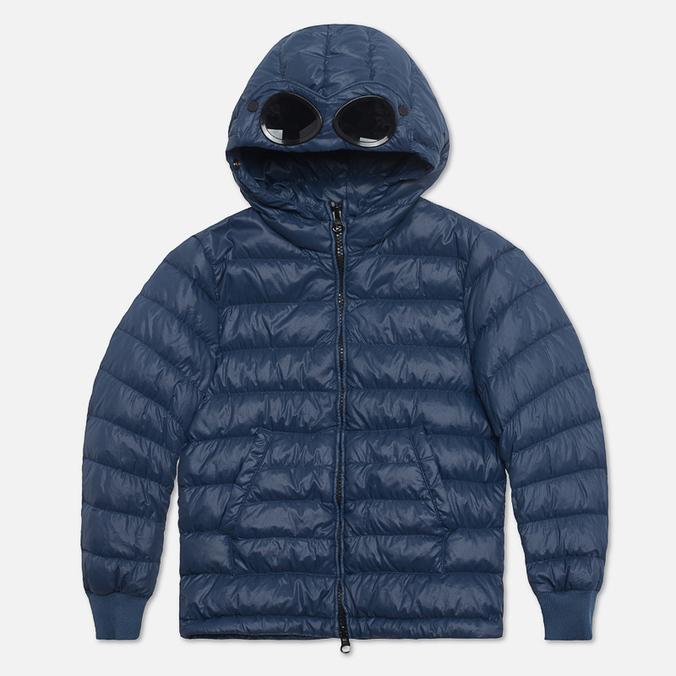 Детская куртка C.P. Company U16 Goggle Down Jacket Navy