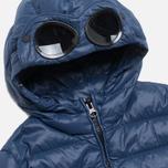 Детская куртка C.P. Company U16 Goggle Down Jacket Navy фото- 1