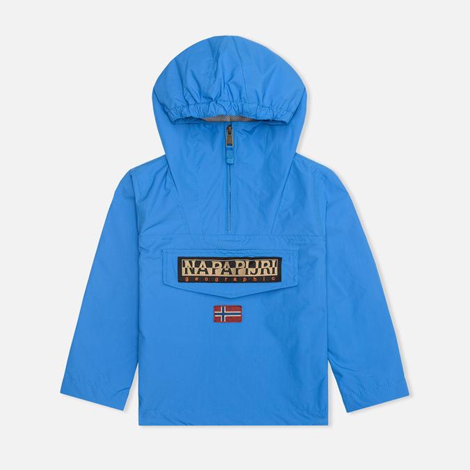 Детская куртка Napapijri Rainforest Summer Brillant Blue