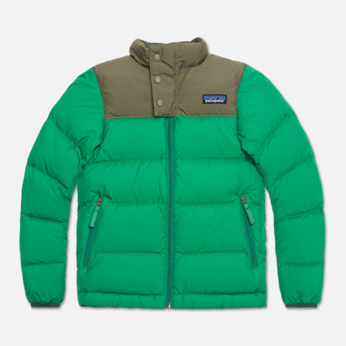 Patagonia Down Children's Jacket Tumble Green