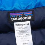 Детская куртка Patagonia Down Sweater Andes Blue фото- 5
